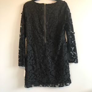 Eci New York Long Sleeved Floral Dress